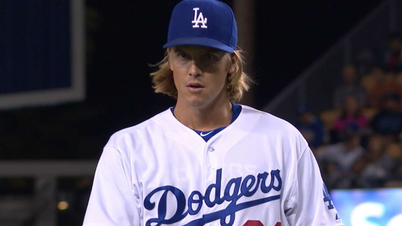Greinke's epic scoreless streak
