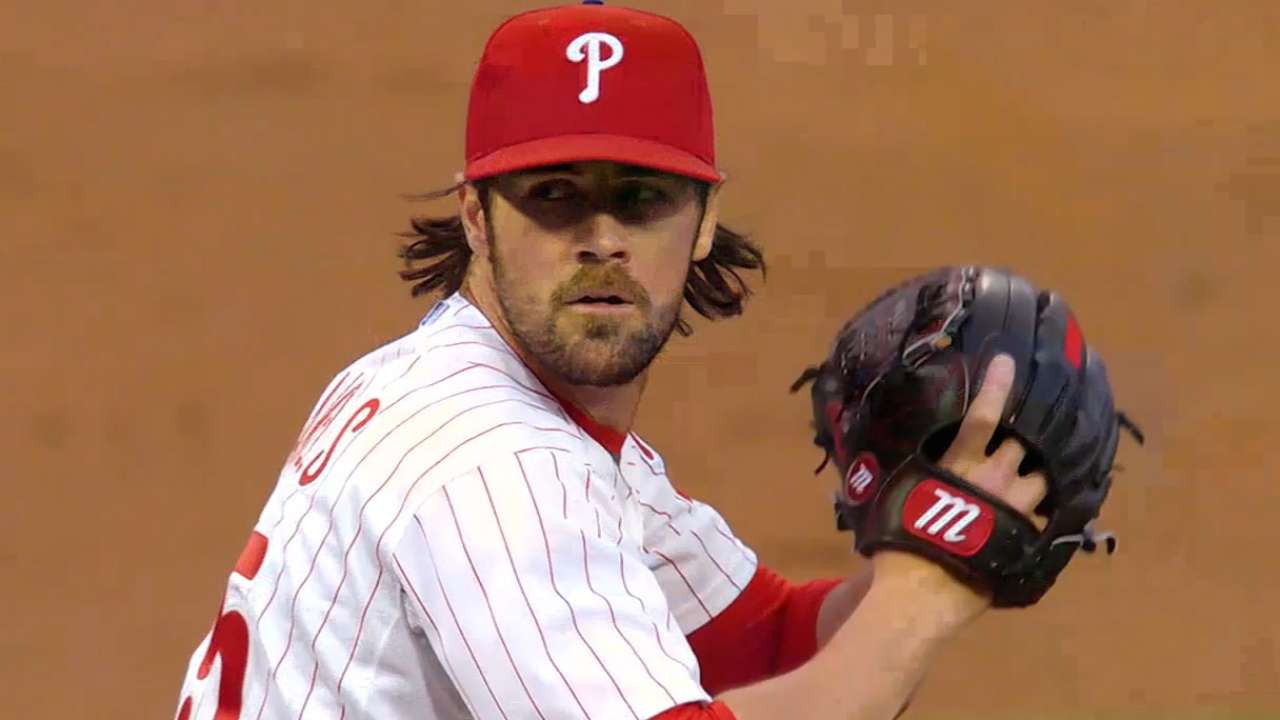 Hamels' stock may depend on next start