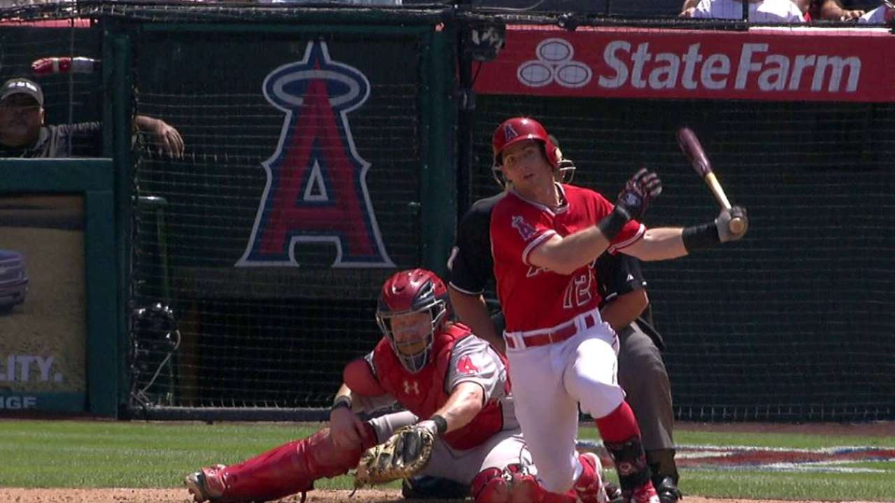 Angels weighing leadoff or power addition