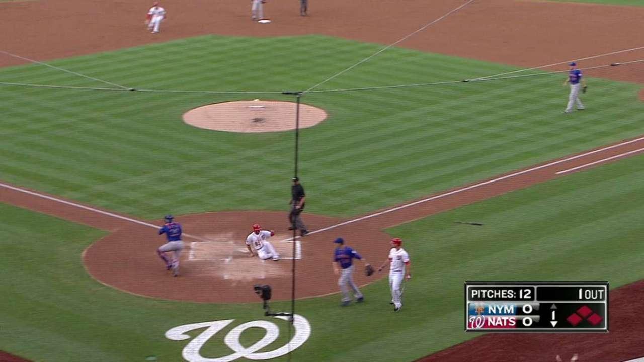 Nacionales le caen a Harvey y se imponen a Mets