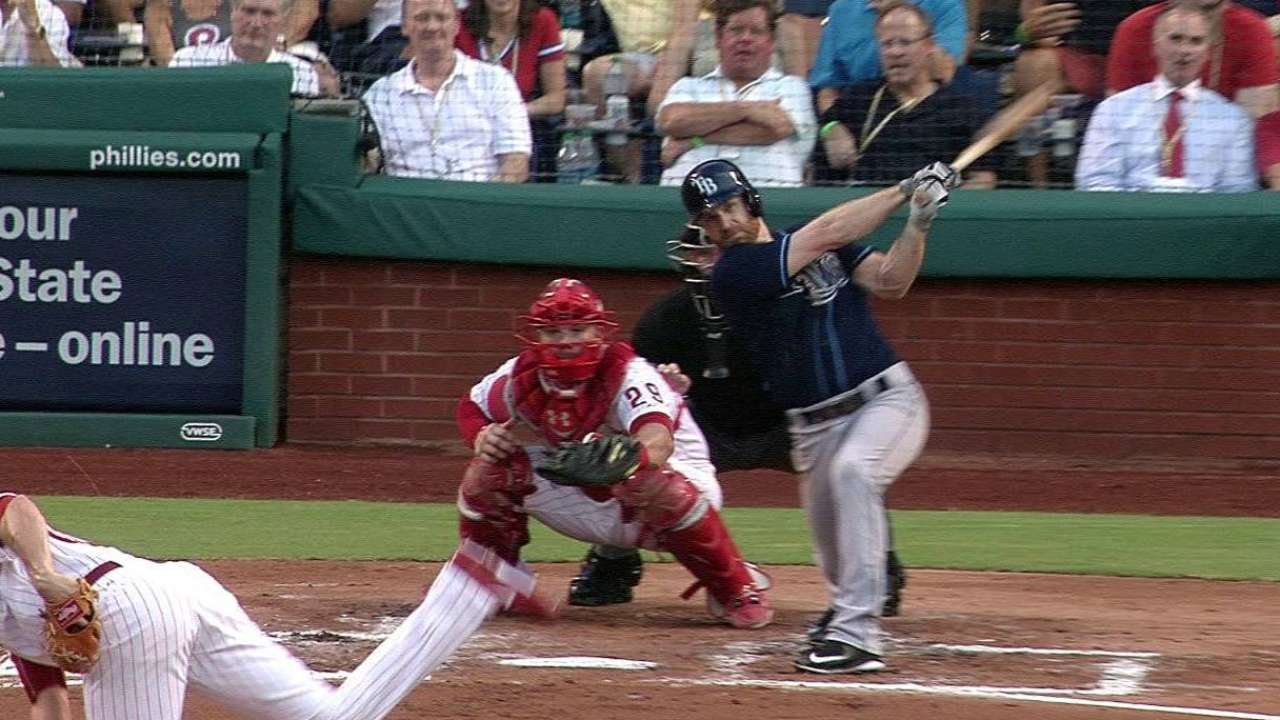 Forsythe's two-run double