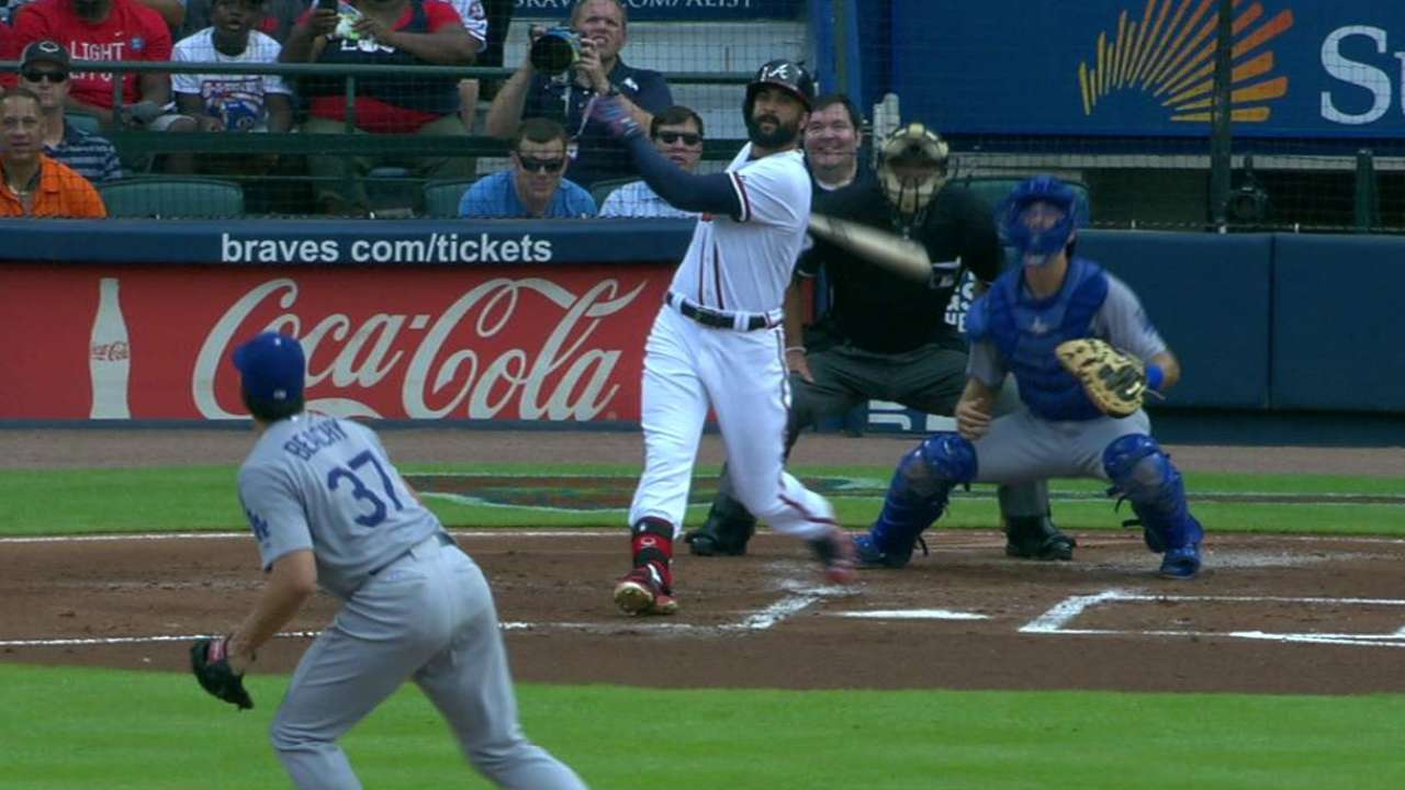 Markakis focused on win, not notable HR