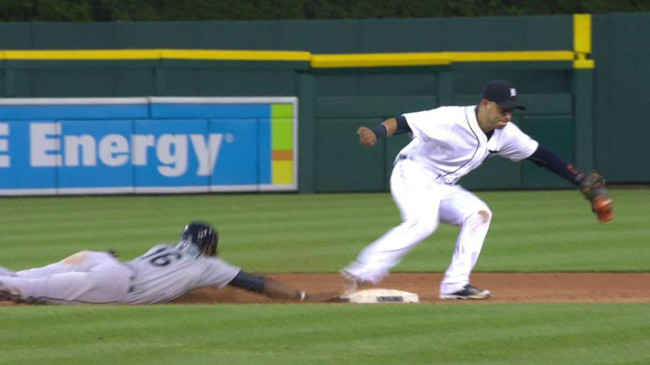 Kinsler's quick catch