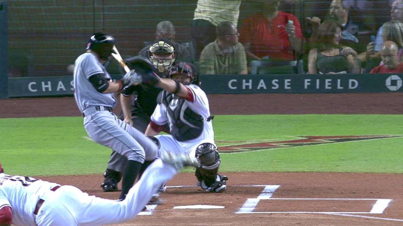 D-backs challenge hit-by-pitch