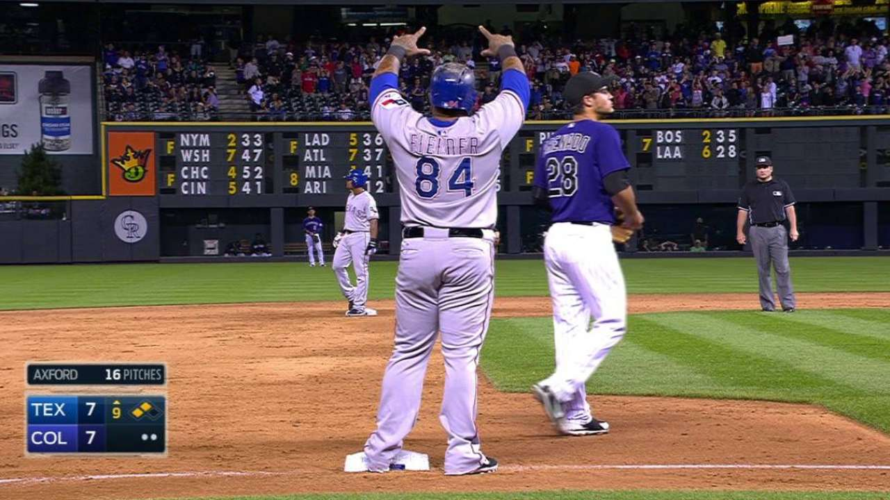 Beltre's game-tying double