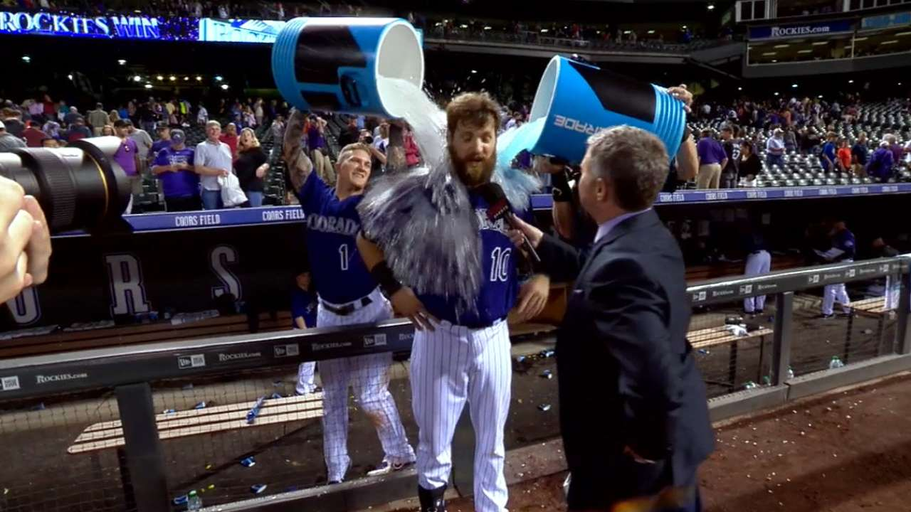 Paulsen doused after walk-off