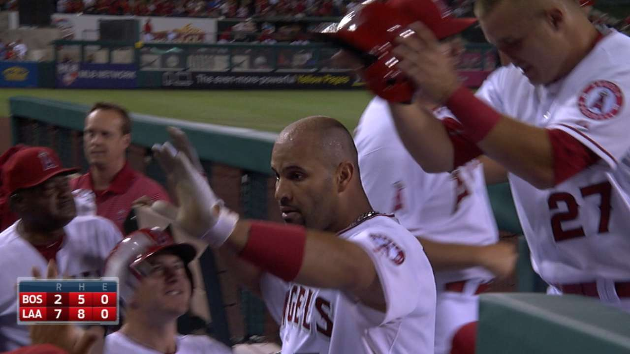 Pujols' BABIP appears to be on upswing