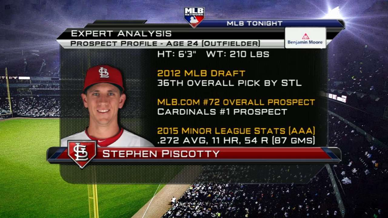 Cardinals call up No. 1 prospect Piscotty