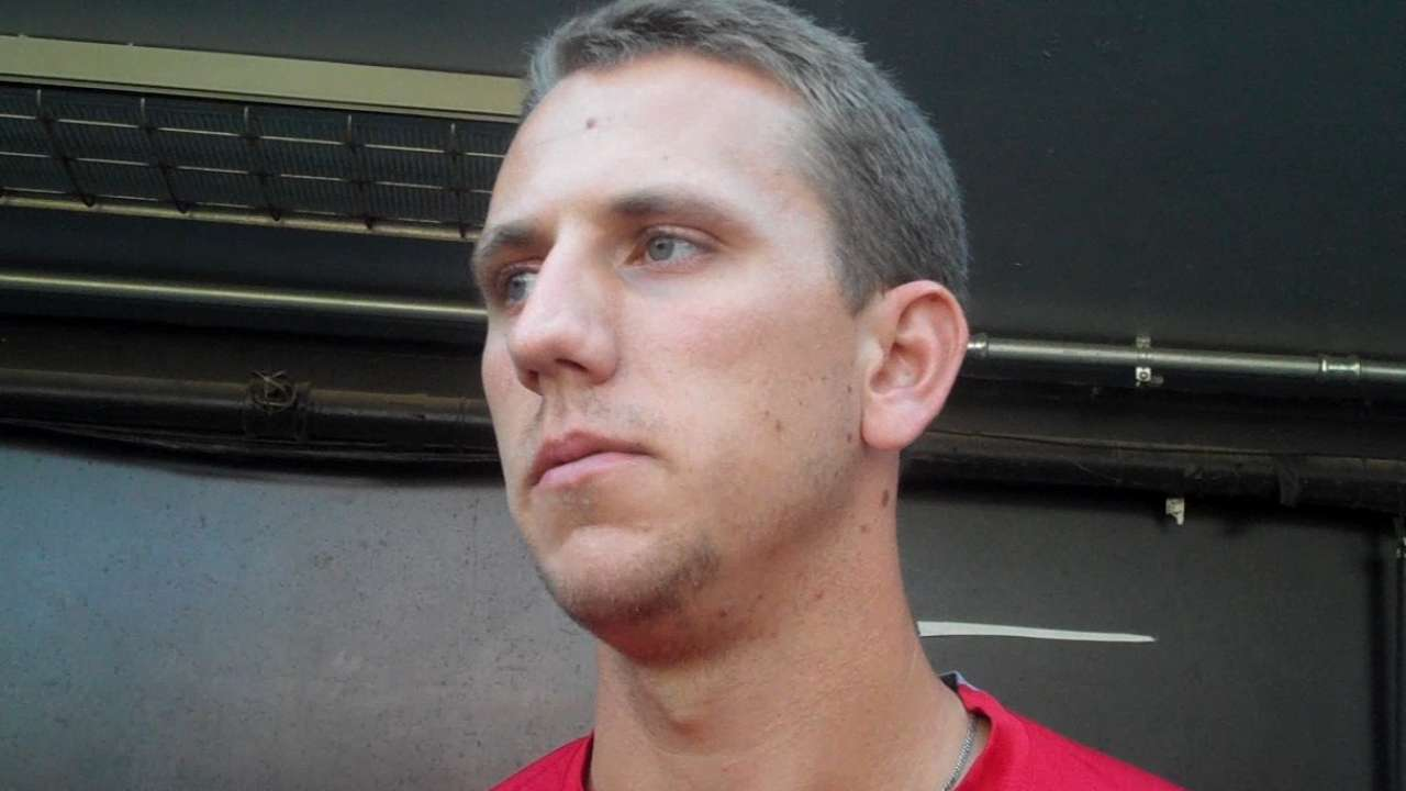Piscotty excited to make debut