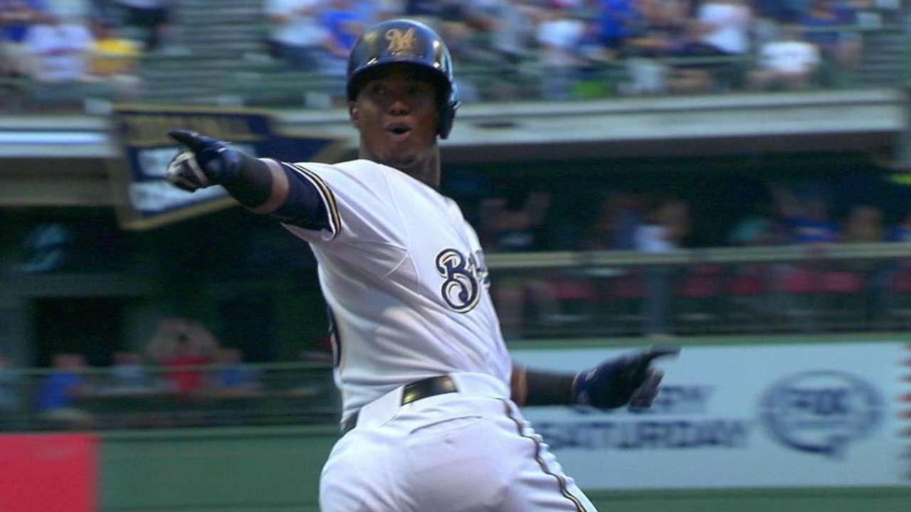 Segura's two-run home run