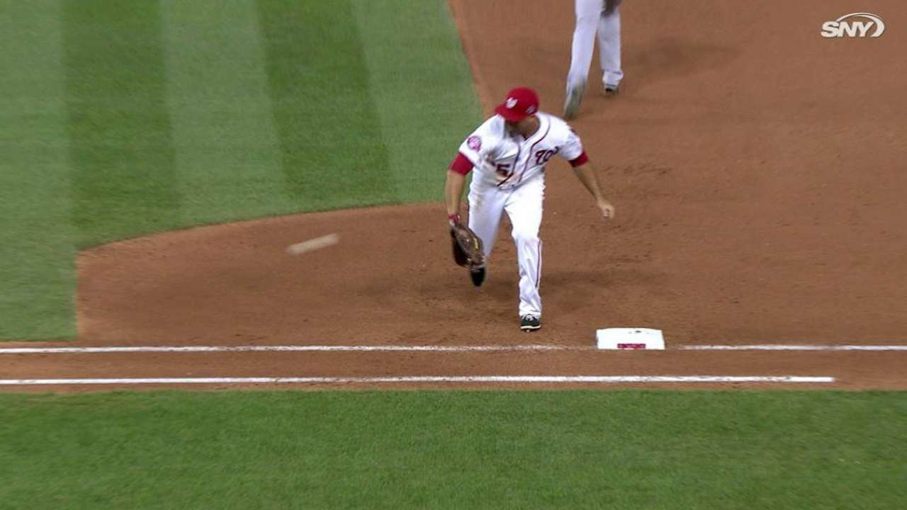 Fielders have night to forget vs. Mets