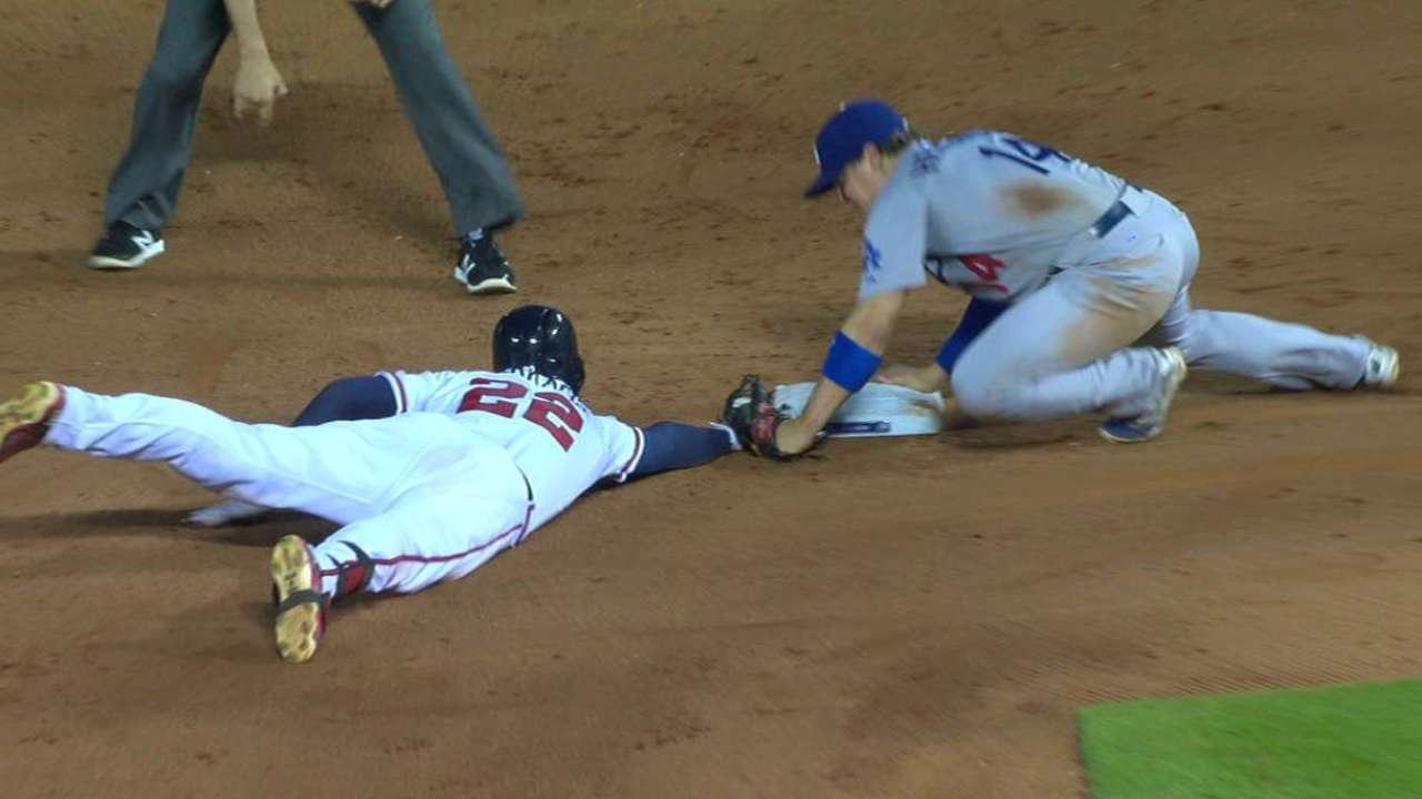 Markakis gets second on review