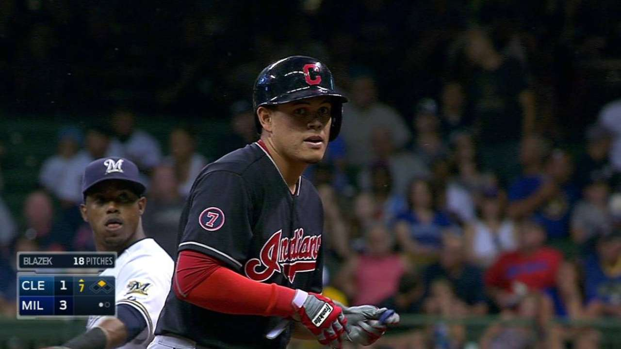 Struggles with runners on base continue for Tribe