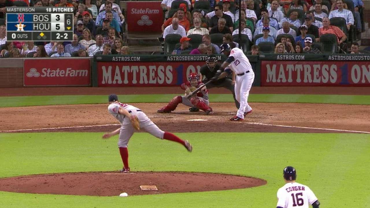 Velasquez tops Red Sox for 1st win in Majors