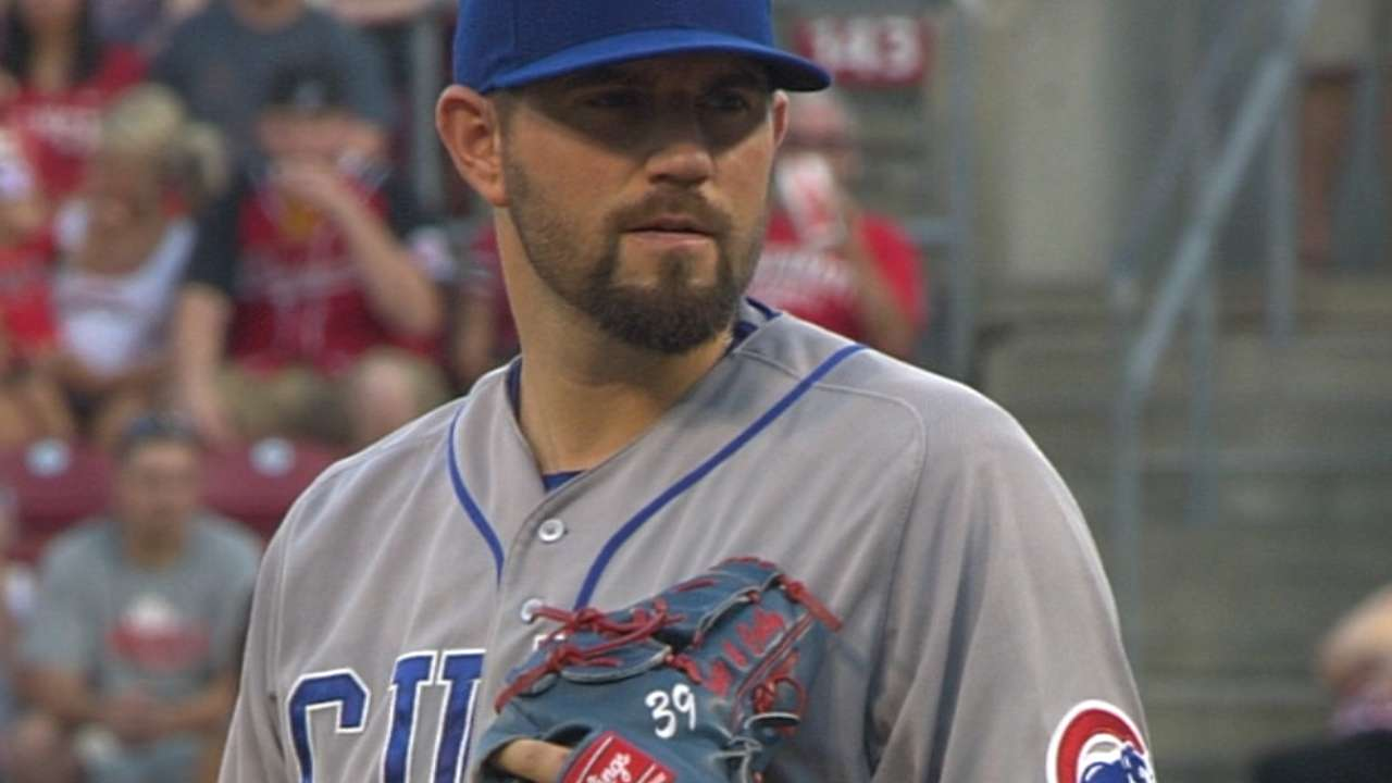 Hammel's solid outing