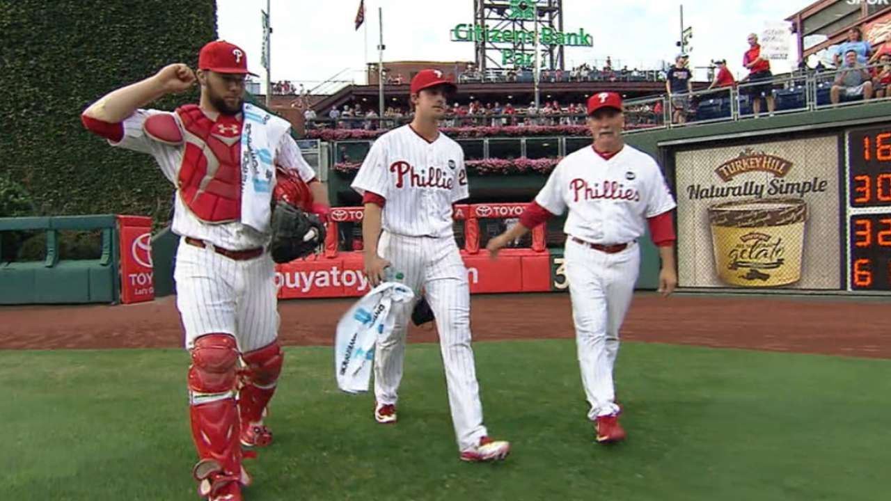 Nola's debut good sign for rebuilding Phils