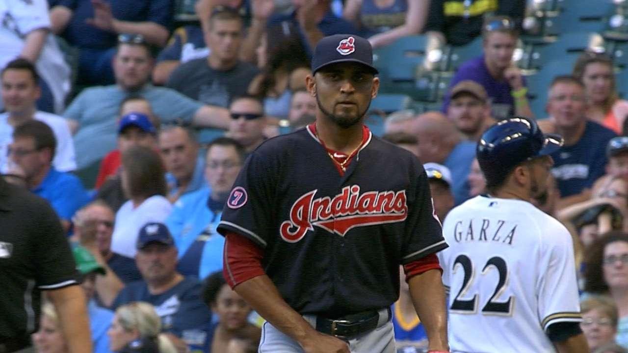 Salazar strikes out eight