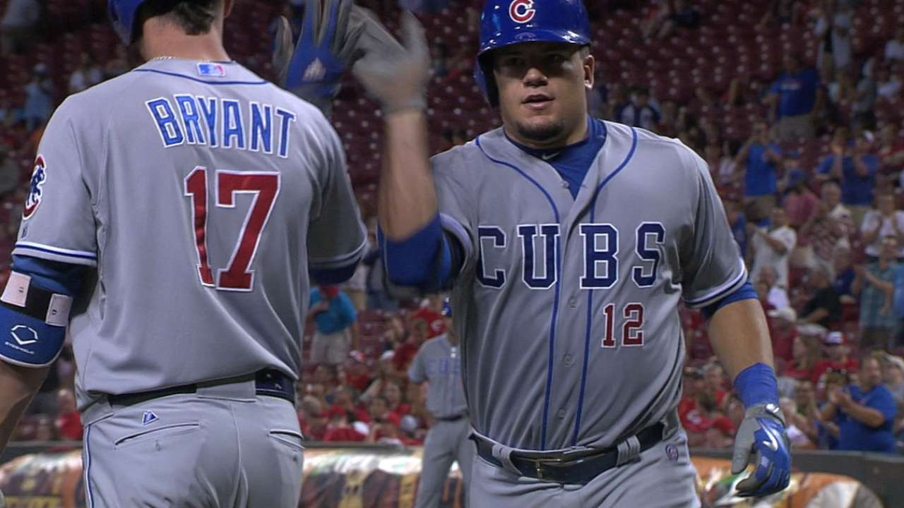 Home-cubbie king: Rookie's homers rile Reds