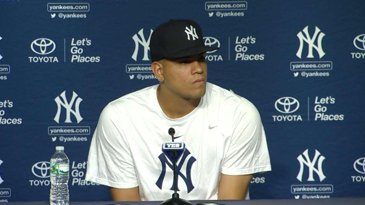 Dellín Betances decidido a ayudar a Yankees a clasificar