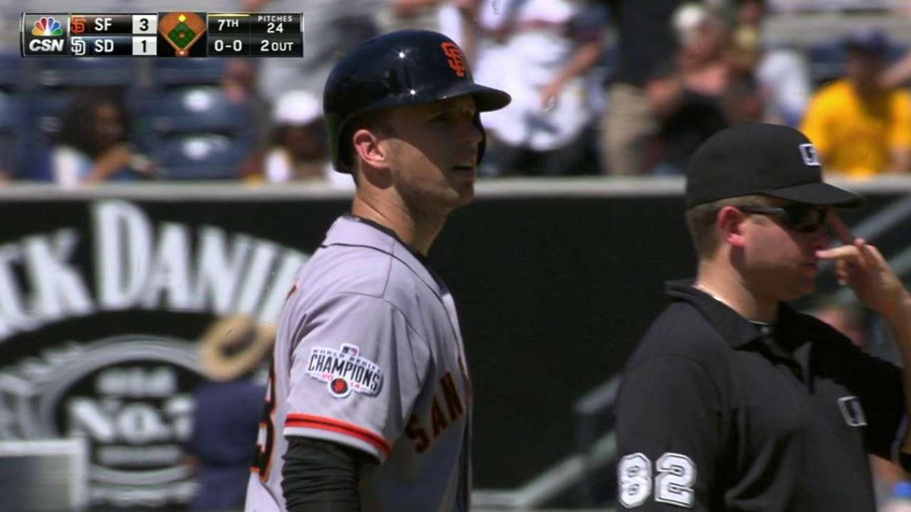 Posey playing his way into another MVP discussion