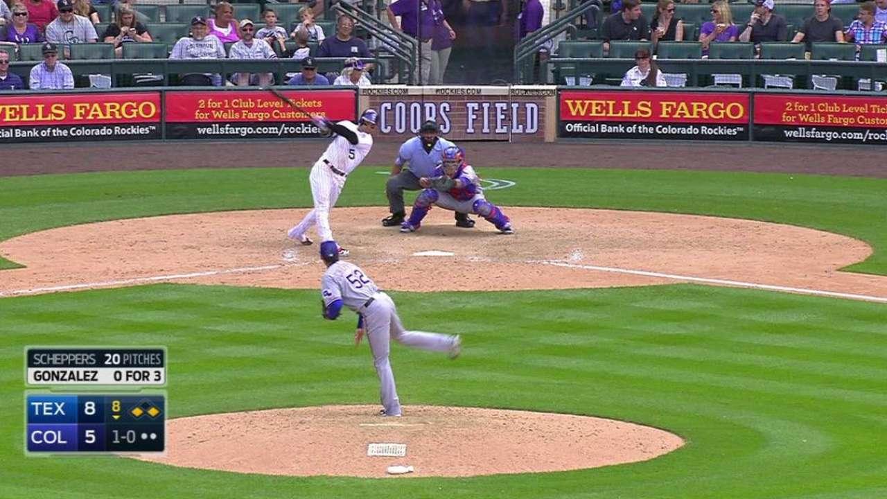 Gonzalez's game-tying homer