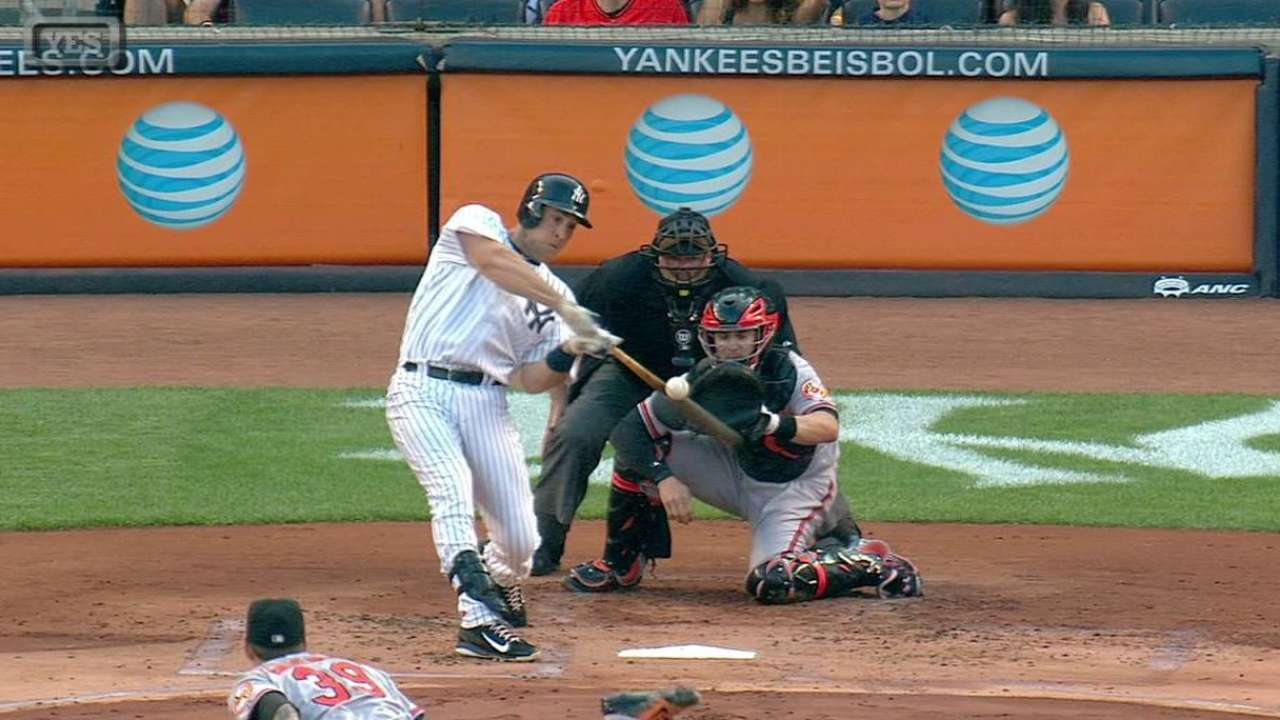 Yanks edge O's behind Tex, A-Rod blasts