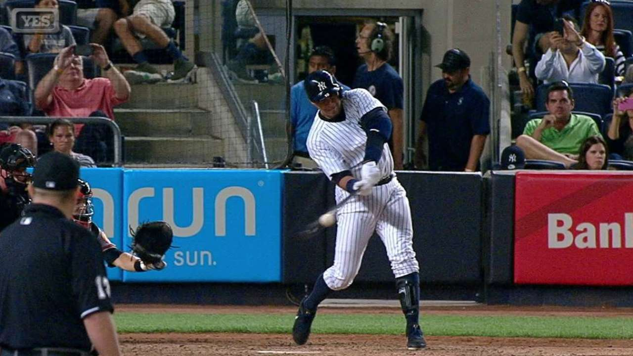 A-Rod pegó su 20mo HR en victoria de los Yankees