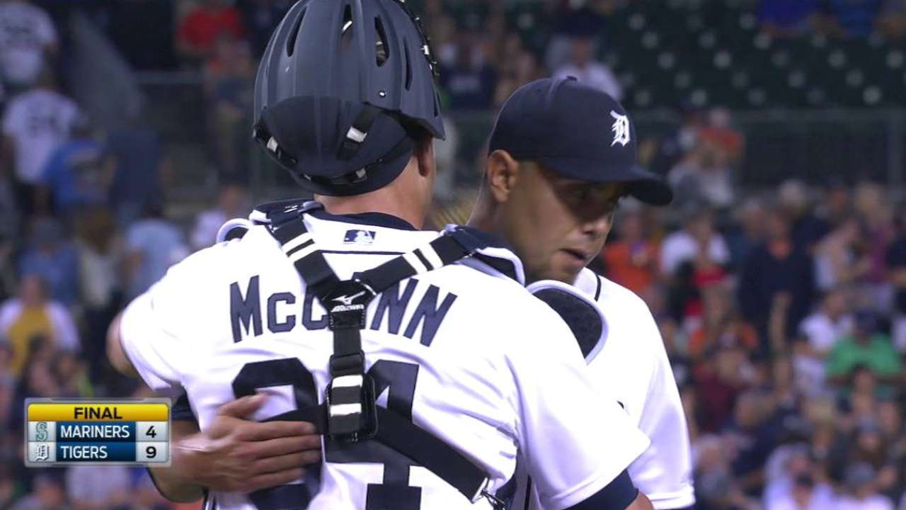 Soria notches 200th career save