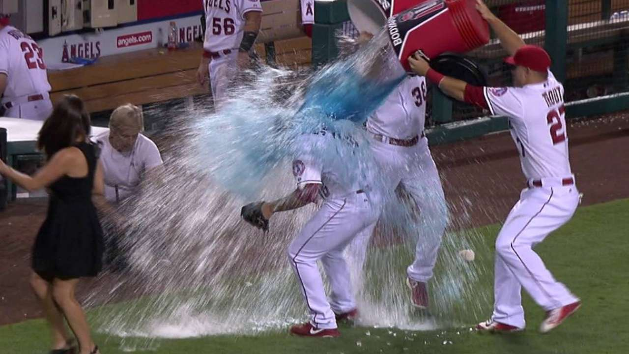Street doused after 300th save