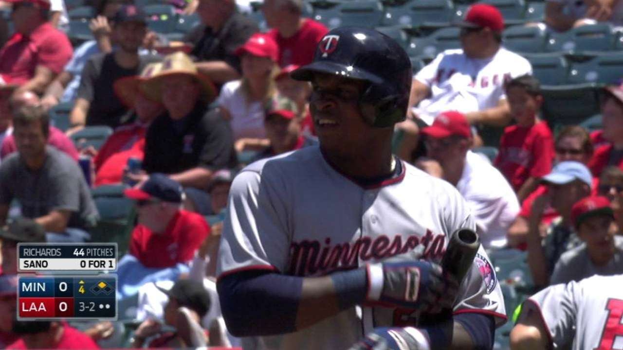 Sano loses track of count