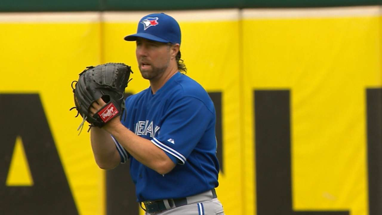 Dickey's excellent start