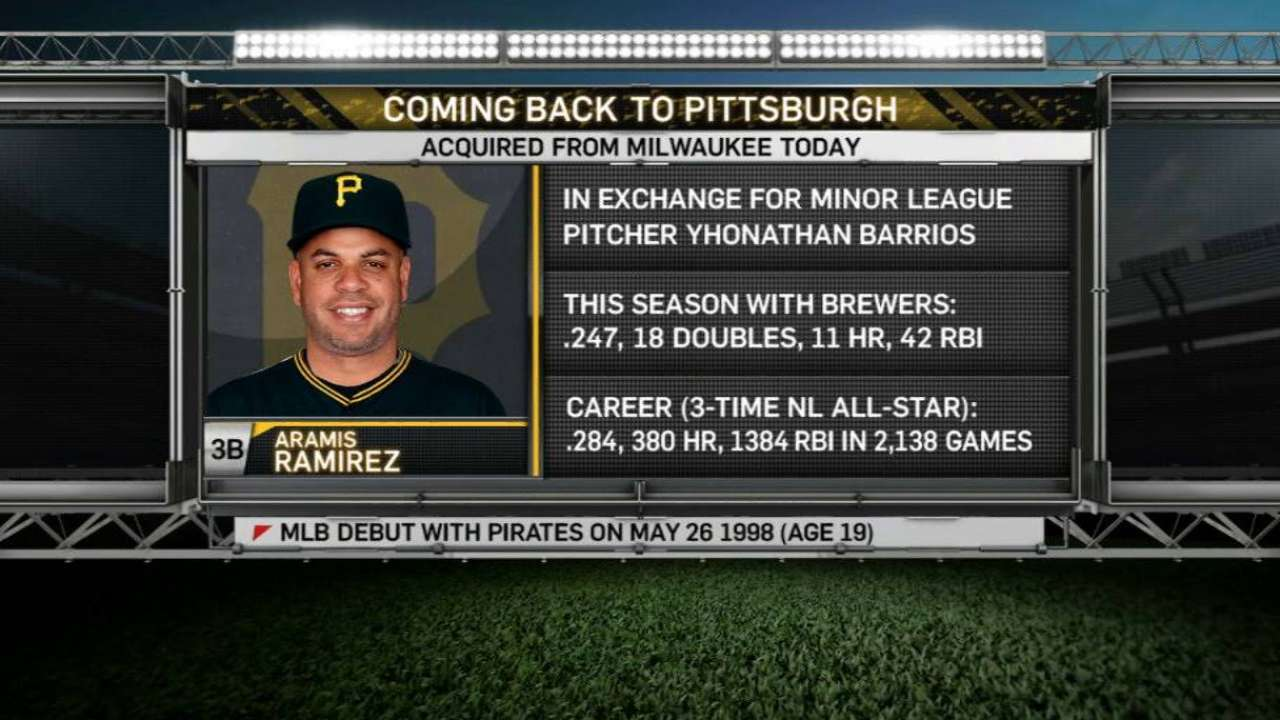 Pirates' booth on Ramirez