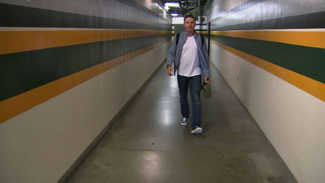 Kazmir fondly reflects on A's tenure