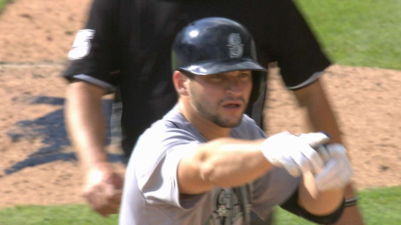 Extended hitting work paying off for Zunino