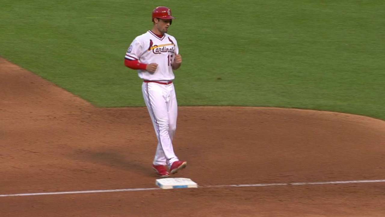 Grichuk activated, available as pinch-runner