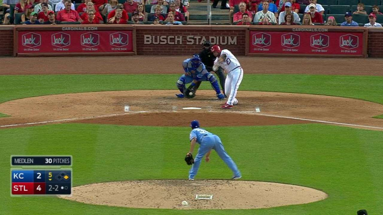 Medlen fires zeros after Young's short outing