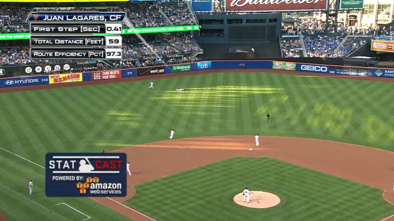 Mets outfield just fine without Cespedes