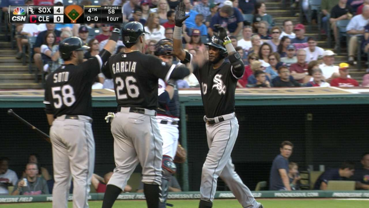 Offensive outburst a reminder of lineup's potency