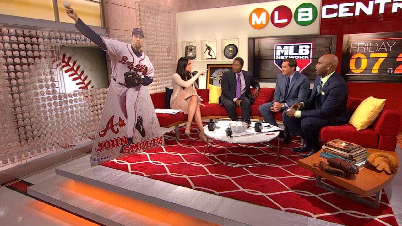 Smoltz and DeRosa get Fatheads