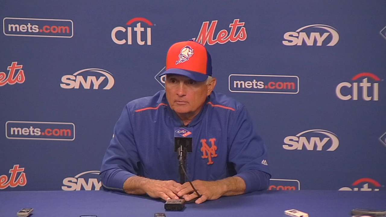 Collins on Conforto's promotion