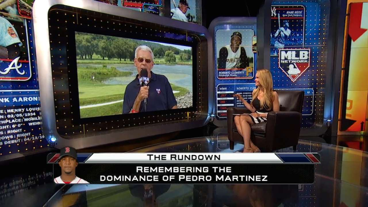 Pedro feels Dominican pride on induction eve