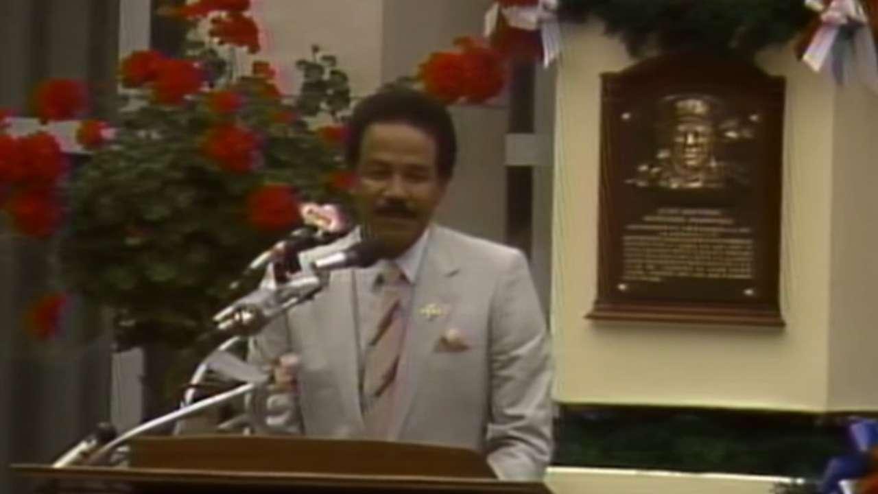 Marichal's Hall of Fame speech