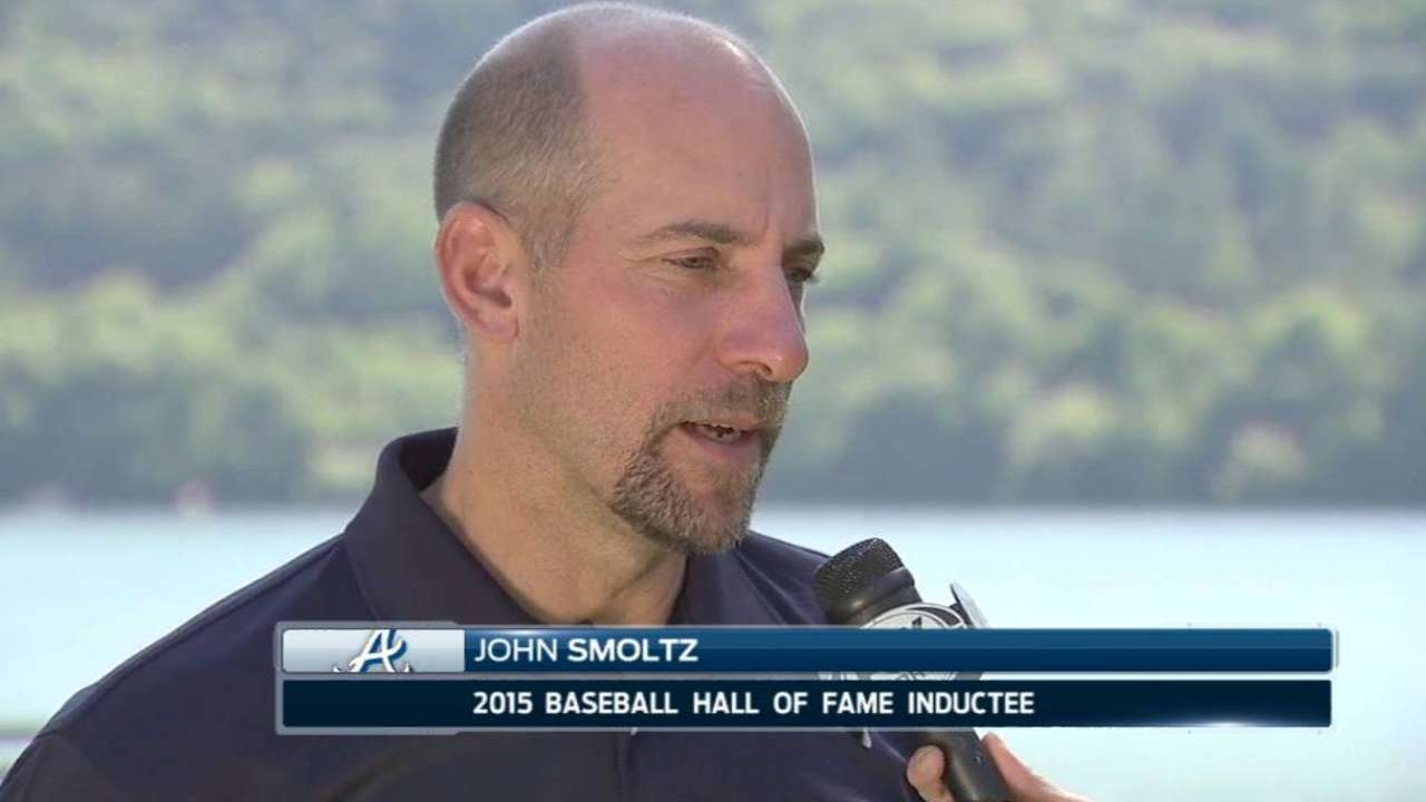 Smoltz on HOF induction