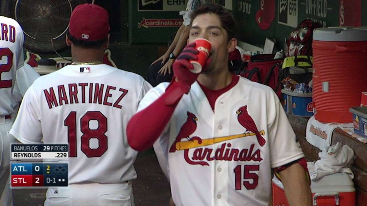 Cooney wins first as Grichuk, Cardinals top Braves