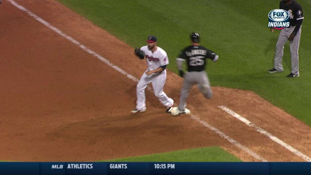 LaRoche out after challenge