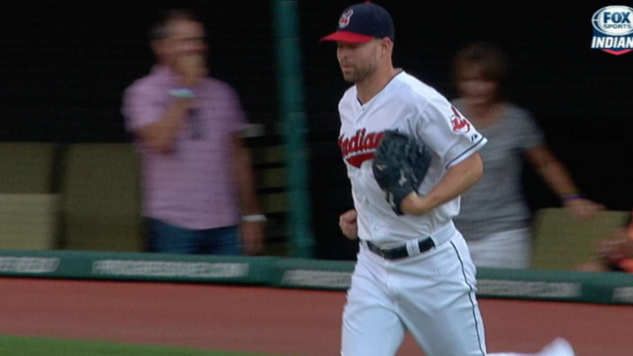 Kluber left with little to show for solid outing