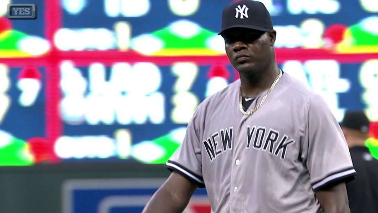 Pineda could return to Yanks after rehab start