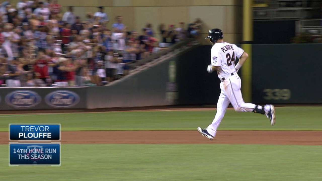 Twins, Plouffe prepare for baby's arrival