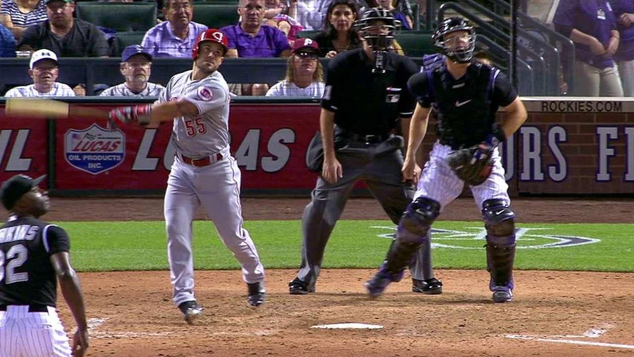 Schumaker's pinch-hit RBI double