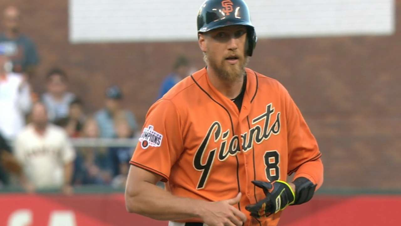 Pence highlights value with four-hit night